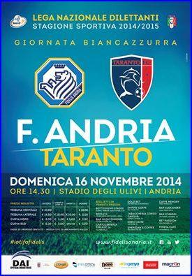 [11^ Giornata] FIDELIS ANDRIA - Taranto: 1 - 0 Cattur10